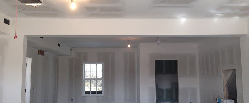 Garage drywall